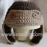 Crochet Pattern Baby Bunny Hat And Diaper Cover : Free Crochet Pattern for Baby Hats ? LisaAuch.com