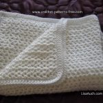 crochet baby blanket free pattern easy