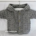 Free Crochet Boys Cardigan Pattern
