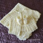 free crochet baby patterns- crochet baby- crochet baby set- crochet cardigan-booties-blanket
