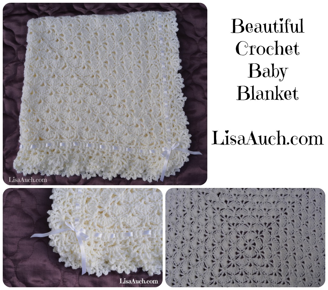 Baby Love Blanket Free Crochet Pattern : Crochet Beautiful Gift (Crochet Blanket/Shawl Booties and ...