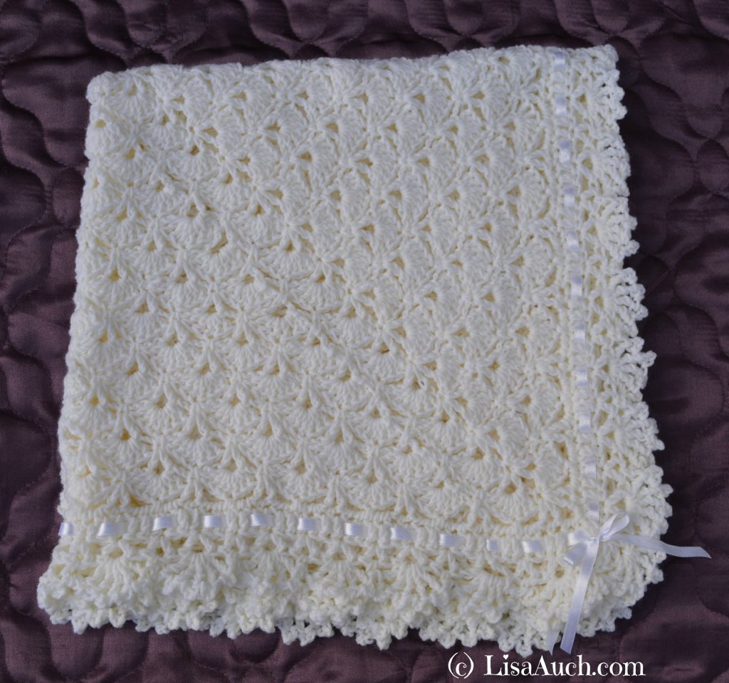 crochet baby blanket pattern, crochet baby shawl, free crochet patterns